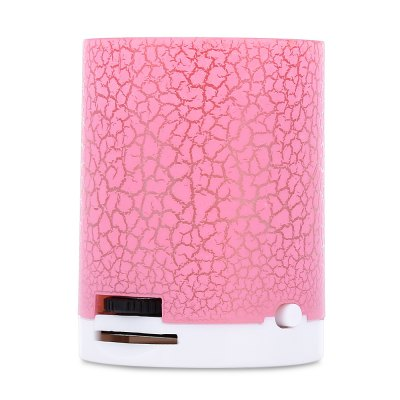 Flash LED Light Crack Pattern Support TF Card MP3 Player
