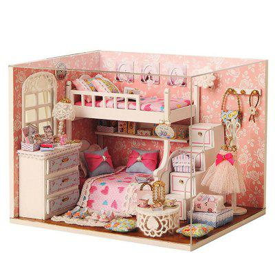 CUTEROOM H - 006 DIY Wooden House Furniture Box