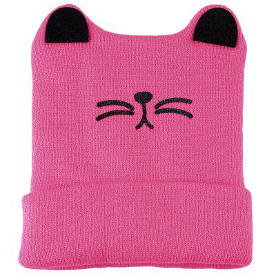 Cute Baby Child Cartoon Animal Cat Shape Flanging Hat