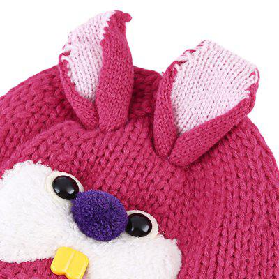 Cartoon Animal Rabbit Buck Teeth Elastic Knitting Wool Hatbaby clothing accessories<br>Cartoon Animal Rabbit Buck Teeth Elastic Knitting Wool Hat<br><br>Circumference: 26cm / 10.24 inch<br>Gender: Unisex<br>Hat Height?cm ): 17cm / 6.69 inch<br>Hat Width?cm ): 13cm / 5.12 inch<br>Item Type: Baby Hat<br>Material: Wool<br>Packabe Contents: 1 x Hat<br>Package size (L x W x H): 13.00 x 10.50 x 6.00 cm / 5.12 x 4.13 x 2.36 inches<br>Package weight: 0.076 kg<br>Pattern: Animal<br>Product size (L x W x H): 13.00 x 0.50 x 17.00 cm / 5.12 x 0.2 x 6.69 inches<br>Product weight: 0.055 kg<br>Season: Winter, Autumn<br>Style: Sweet