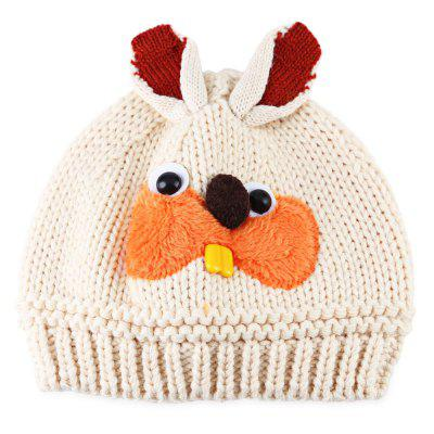 Cartoon Animal Rabbit Buck Teeth Elastic Knitting Wool Hat