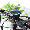 Mountain Bike Cycling Headlight with Electric Horn - BLUE AND BLACK