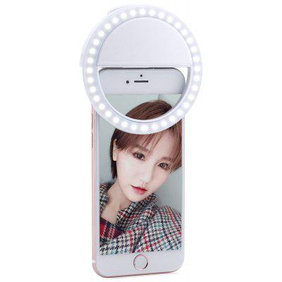 Selfie Portable Clip Flash LED Ring Light