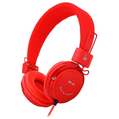 JKR 101 Wired Stereo HiFi Headset Headphones