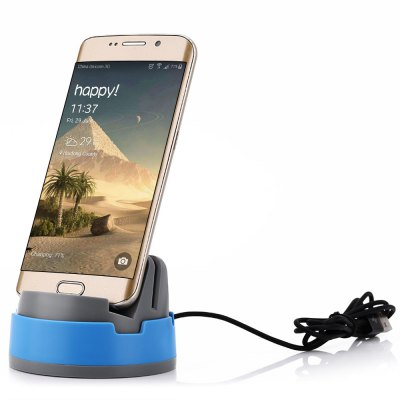 360 Degree Rotating Micro USB Dock Cradle Charging Station