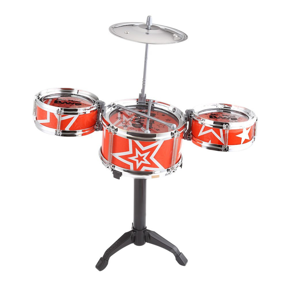 Jazz Rock Drums Set Giocattolo Musical Instrument