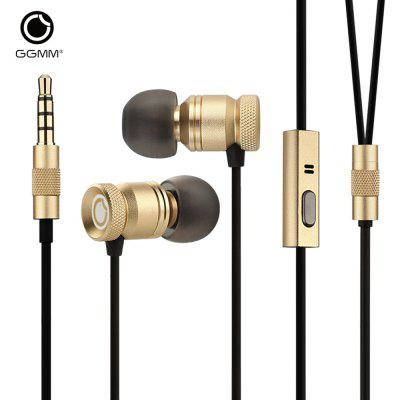 GGMM EJ102 Nightingale In-ear Dynamic Stereo Earphones