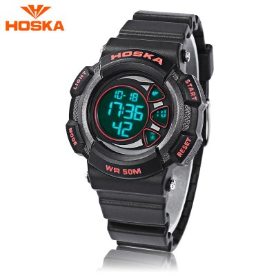 HOSKA H020S Children LED Digital Watch