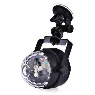 Car Colorful DJ LED 6W Music Rhythm Sound Activated Light