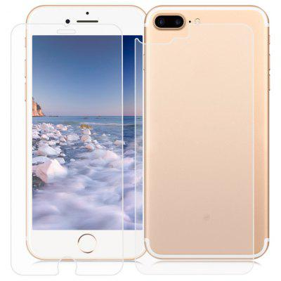2 in 1 3D Toughened Glass Film for iPhone 7 Plus 5.5 inch