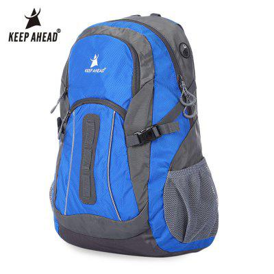 Buy BLUE KEEPAHEAD Climbing Camping Hiking Military Bag Backpack for $23.54 in GearBest store