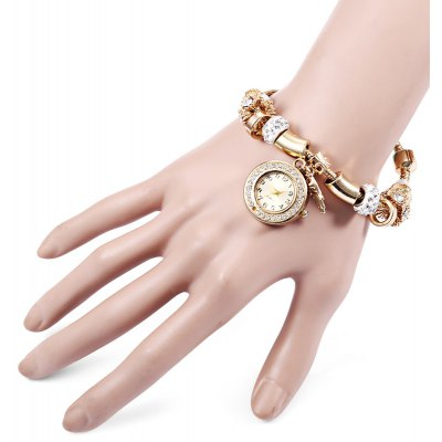 Shiny Women Quartz  Pendant Watch