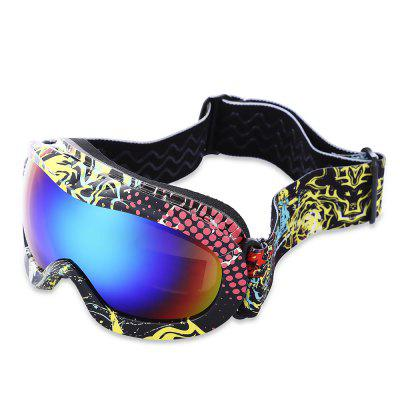 Child UV Protection Anti-fog Snowboarding Glasses