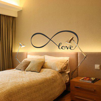 Rimovibile Word Romantic Wall Sticker Amore