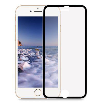 3D Tempered Glass Curved Metal Edge Screen Protective Film for iPhone 7 4.7 inch