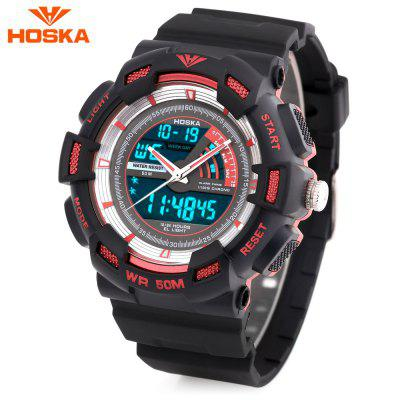 HOSKA HD030B Children Quartz Digital Watch