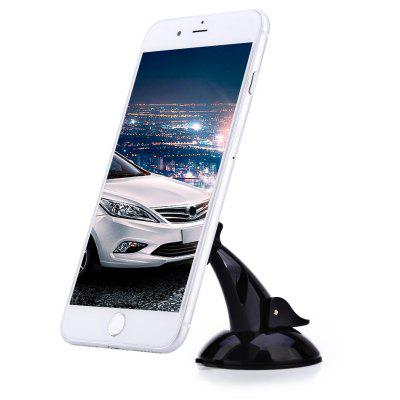 Buy BLACK 360 Degree Magnetic Car Cellphone Holder Stand for $3.53 in GearBest store
