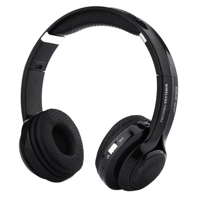 JKR 208B Wireless Bluetooth On Ear Headphones 3.5MM Plug Headset