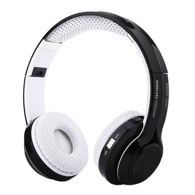 JKR 208B Bluetooth 3.5MM Plug Headset On Ear Headphone Stereo