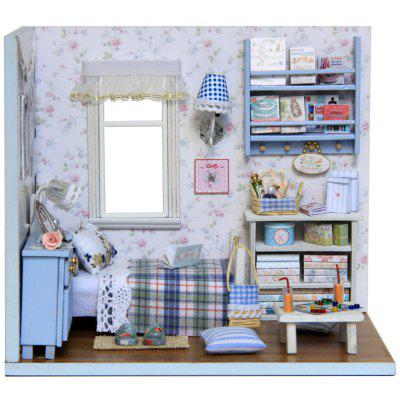 CUTEROOM H - 003 DIY Wooden House Box Kit