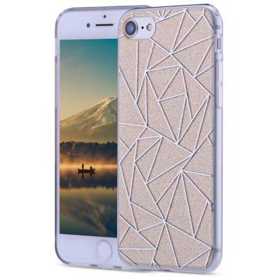 Dazzle Rhombic Back Cover for iPhone 7 4.7 inch