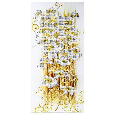 Buy GOLDEN 30x56cm 5D Golden Lily Painting Cross Stitch Tool for $4.39 in GearBest store
