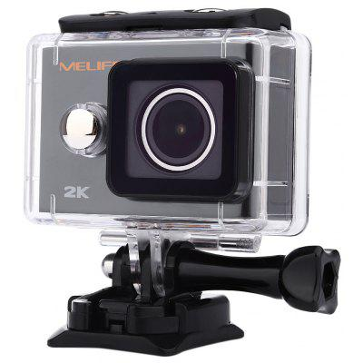 Melife 2K Wireless 1080P 30M Action Camera Underwater
