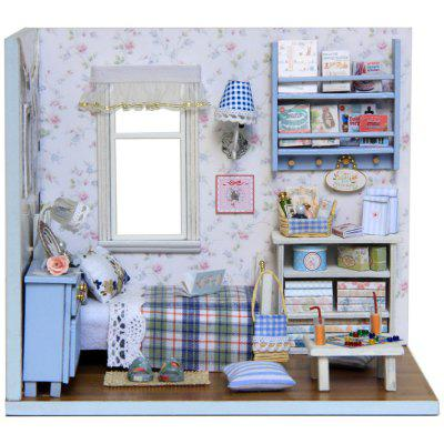 CUTEROOM H - 003 DIY Wooden Doll House Box Kit