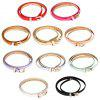 Candy Color PU Ladies Thin Pin Buckle Belt - PRATA