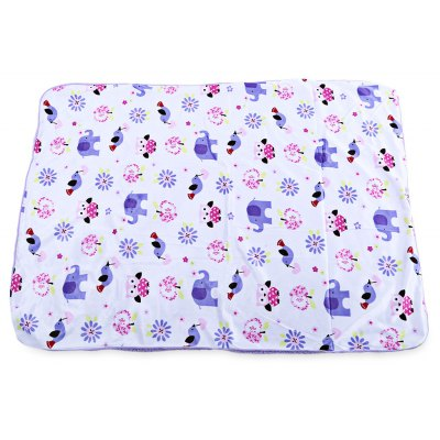 Cute Cartoon Printed Baby Blanket
