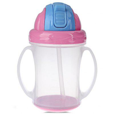 240ML BPA Free Food Grade PP Baby Handle Sippy Cups