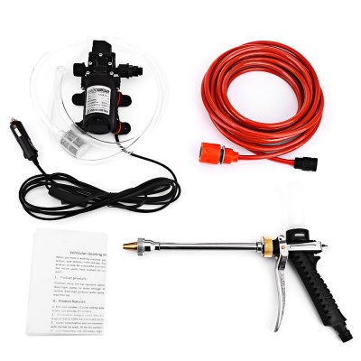 BOJIN 12V 70W High Pressure Car Washer