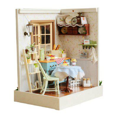 CUTEROOM F - 002 DIY Wooden House - Pastoral Life