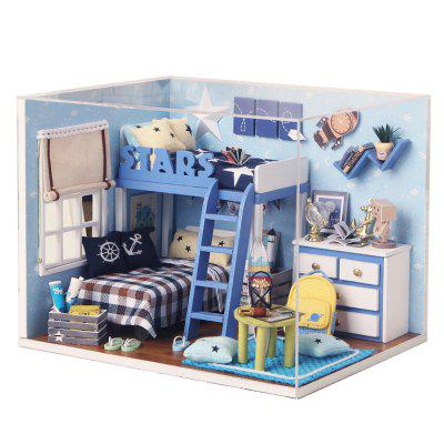 CUTEROOM H - 005 DIY Wooden House - Star Tale