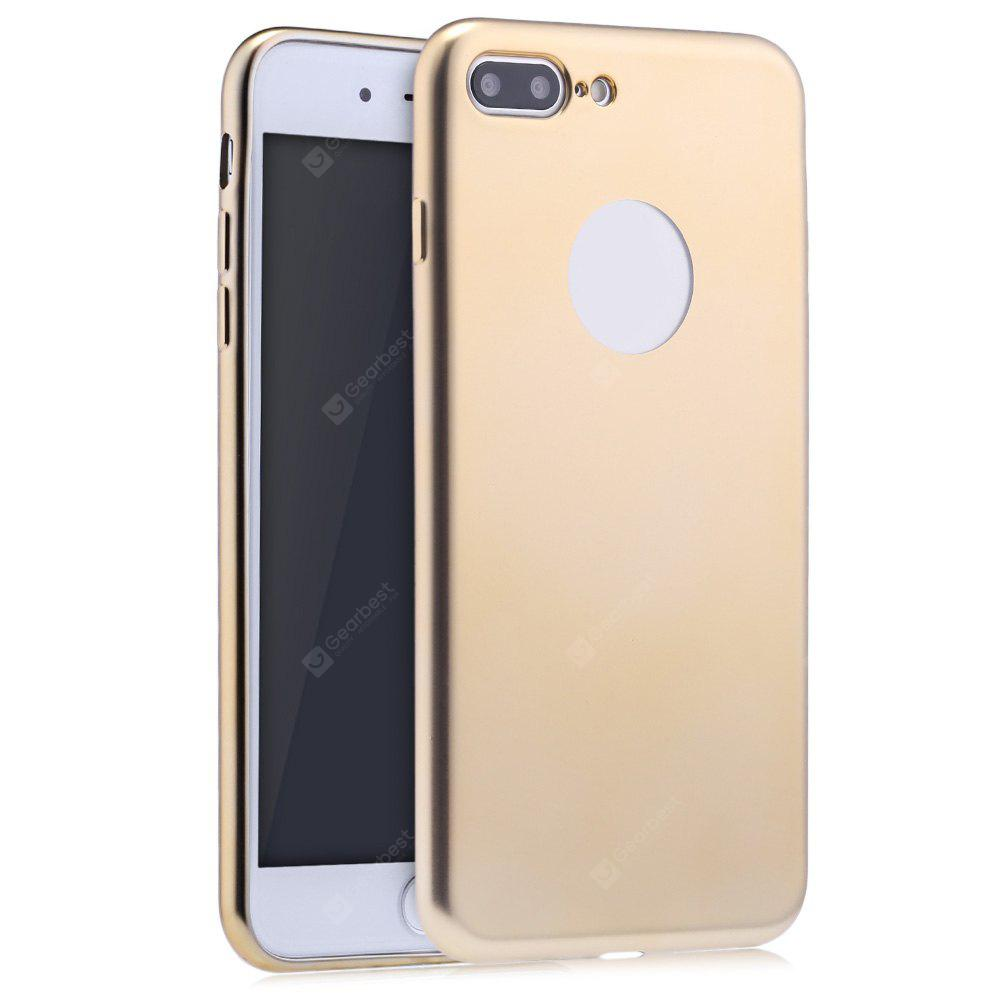 GOLDEN Frosted Electroplate Plating TPU Case for iPhone 7 Plus 5.5 inch