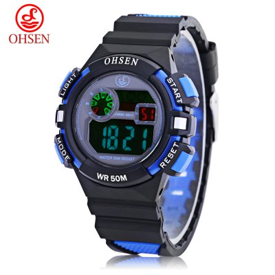 OHSEN 1610 Kids LED Digital Movt Watch