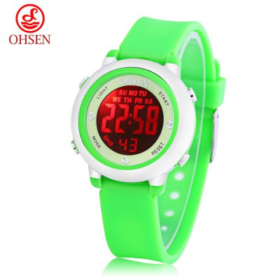 OHSEN 1605 Kids LED Digital Watch