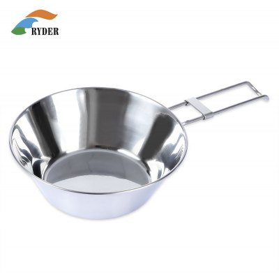 RYDER M1005 Cooking Stainless Steel Folding Bowl