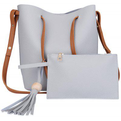 Guapabien Tassels Single Strap Women Shoulder Bag