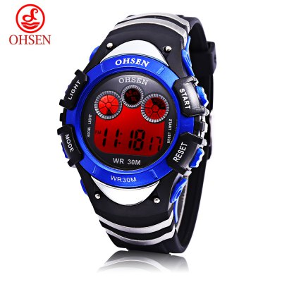 OHSEN 0815 Kids LED Digital Watch