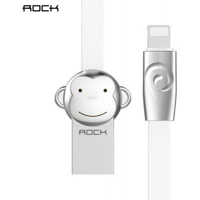 ROCK Zinc Alloy Charge Data Transfer Cord for iPhone 1M