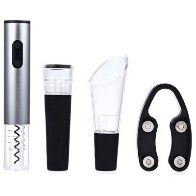 4pcs Electric Wine Opener