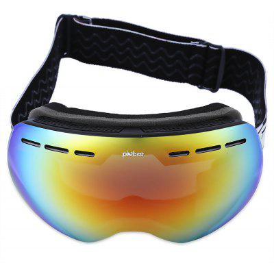 phibee Unisex UV Protection Anti-fog Snowboarding Glasses