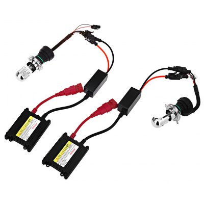 55W 10000K Universal Car Xenon Headlight DC230 Ballast Kit