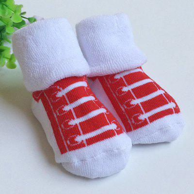 Thickening Newborn Baby Infant Print Towel Socksbaby clothing accessories<br>Thickening Newborn Baby Infant Print Towel Socks<br><br>Gender: Unisex<br>Item Type: Socks&amp;Tights<br>Material: Cotton Blend<br>Packabe Contents: 1 x Pair of Socks<br>Package size (L x W x H): 8.50 x 8.00 x 4.00 cm / 3.35 x 3.15 x 1.57 inches<br>Package weight: 0.036 kg<br>Pattern: Print<br>Product size (L x W x H): 9.00 x 7.00 x 10.50 cm / 3.54 x 2.76 x 4.13 inches<br>Product weight: 0.025 kg<br>Season: Winter<br>Style: Fashion<br>Suitable Age: 0-3 years old