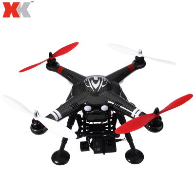 XK X380 - C 2.4GHz 4CH GPS 5.8G FPV Remote Control Top-level ConfigurationQuadcopter
