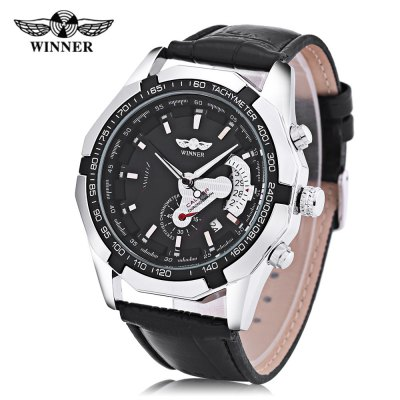 Winner F120535 Men Auto Mechanical Watch