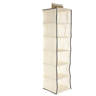Non-woven Fabric Multi-layer Wardrobe Storage Bag