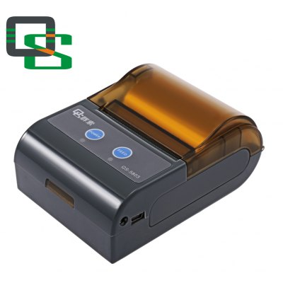 QS 5803 Mini Portable Bluetooth 4.0 Printer