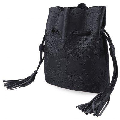 Guapabien Bucket Tote Shoulder Messenger Crossbody Bag